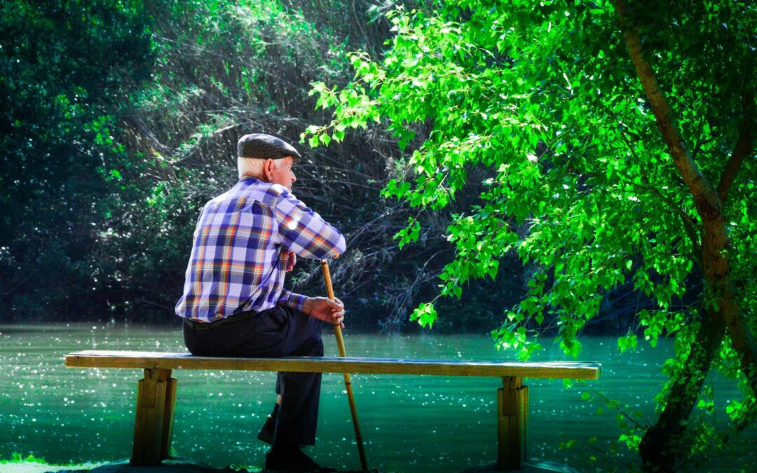 Helping a Senior Parent Cope with the Loss of a Spouse by Lucille Rosetti